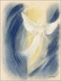 Marita Zacharias - Lichtwesen - Angel painting