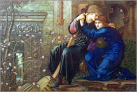Edward Burne-Jones - Love among Ruins