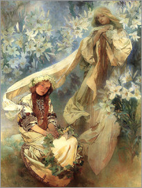 Alfons Mucha - Lily Madonna