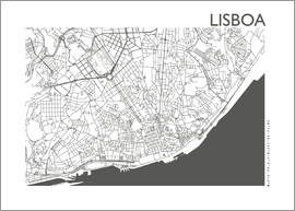 44spaces - LISBON CARD steelgrey