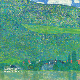 Gustav Klimt - Litzlberg on the Attersee