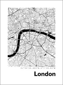 44spaces - London 1 City Map HF 44spaces