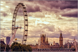 Stefan Becker - London Eye & Big Ben