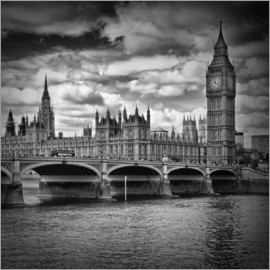 Melanie Viola - LONDON Houses of Parliament & Westminster Bridge