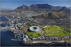 David Wall - Aerial view of Cape Town Stadium