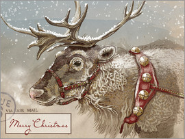 Ashley Verkamp - Air Mail Christmas Reindeer