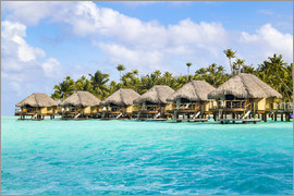 Jan Christopher Becke - Luxury vacation in an Overwater bungalow in the South Seas, Bora Bora, Polynesia