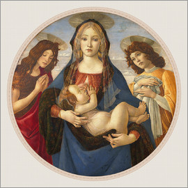 Sandro Botticelli - Madonna with Jesus