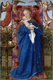 Jan van Eyck - Madonna with child at the well