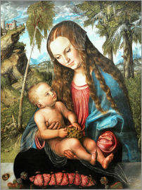Lucas Cranach d.Ä. - Madonna under the fir tree