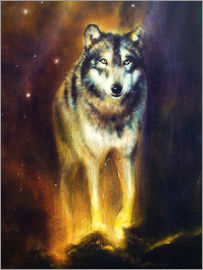 Kidz Collection - mighty cosmical wolf