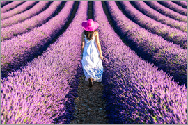 Matteo Colombo - Girl in a lavender field
