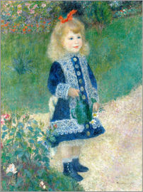 Pierre-Auguste Renoir - Girl with watering can