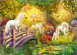 Jan Patrik Krasny - Enchanted garden unicorns