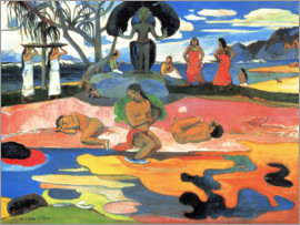 Paul Gauguin - Mahana no atua (Day of god)