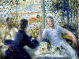 Pierre-Auguste Renoir - Lunch in the Fournaise restaurant