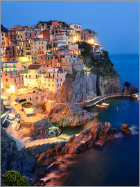 Matteo Colombo - Manarola in the evening