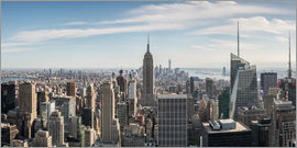 Matteo Colombo - Manhattan skyline with Empire State Building