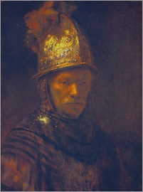 Rembrandt van Rijn - Man with the Golden Helmet