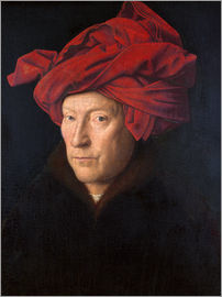 Jan van Eyck - Man with red turban