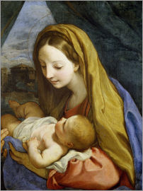 Carlo Maratta - Madonna and Child