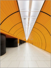 Dieter Meyrl - Marienplatz  subway station in Munich