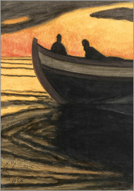 Léon Spilliaert - Marine orange