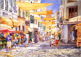 Paul Simmons - Market Day