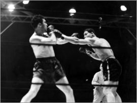 Max Schmeling fights against Joe Louis