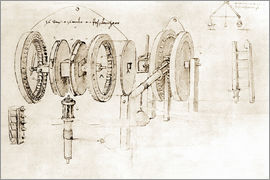 Leonardo da Vinci - Mechanical design
