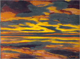 Léon Spilliaert - Sea in the twilight