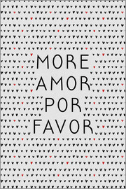 Orara Studio - More Amor Por Favor Black Red