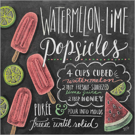 Lily & Val - Watermelon Popsickles