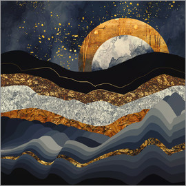 SpaceFrog Designs - Metallic Mountains