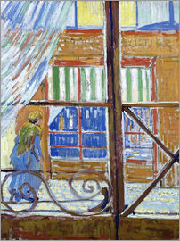 Vincent van Gogh - A Pork Butcher's Shop Seen from a Window
