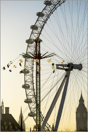 Axiom RF - Millennium Wheel, Big Ben and Starflyer; London, England