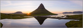 Matteo Colombo - Midnight sun at Kirkjufell mountain, Iceland