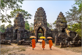 Matteo Colombo - Monks at Angkor Wat