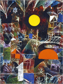 Paul Klee - Moonrise - Sunset, 1919