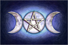 Dirk Czarnota - Moon Pentagram - Triple Moon