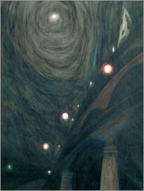 Léon Spilliaert - Moonlight and lights
