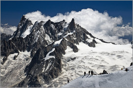 Frauke Scholz - Mont Blanc Massif and mountaineer, France