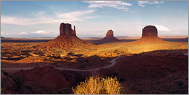 Michael Rucker - Monument Valley light