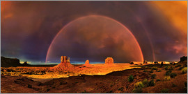 Michael Rucker - Monument Valley Rainbow