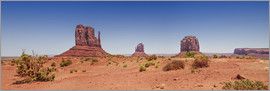 Melanie Viola - Monument Valley USA Panorama I