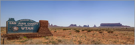 Melanie Viola - Monument Valley USA Panorama III