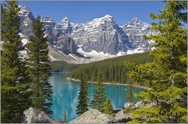 Paul Thompson - Moraine Lake, Canadian Rockies, Alberta, Canada
