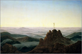 Caspar David Friedrich - Morning in the Giant Mountains