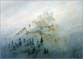 Caspar David Friedrich - Morning mist in mountains