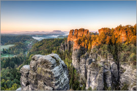 Michael Valjak - Saxon Switzerland in the morning